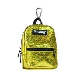 TINYBAG: SHINY GOLD GLITTER