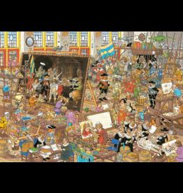 JUMBO Jan van Haasteren het museum (2×1000 stukjes)