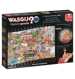 Wasgij Mystery puzzel 15 een echt Britse BBQ! - 1000 stukjes