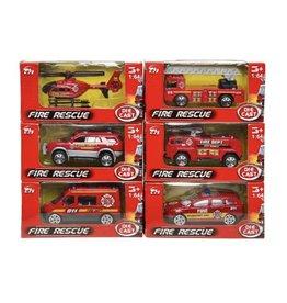 DIE CAST Die cast brandweer voertuigen - 1:64 per stuk