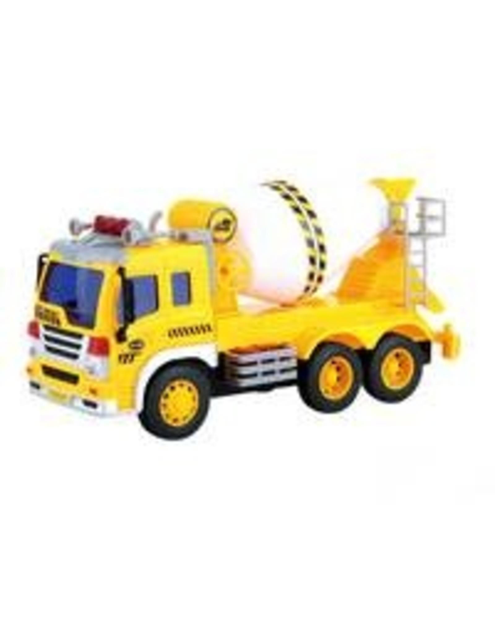 JOLLITY Cementwagen met licht en geluid - 1:16