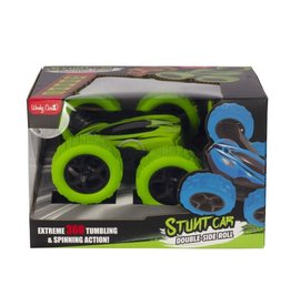 WONKY CARS RC Stunt car double roll - green