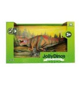 JOLLITY JollyDinos Tyrannosaurus Rex RED speelfiguur
