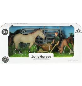 JOLLITY JollyHorses: Quarter Horse Grullo + veulen + hek + boer