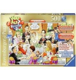 RAVENSBURGER Ravensburger Wat als? de bruiloft puzzel 500 stuks