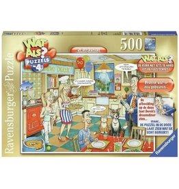 RAVENSBURGER Ravensburger Wat Als? 4 - De Verjaardag - Puzzel 500 Stukjes