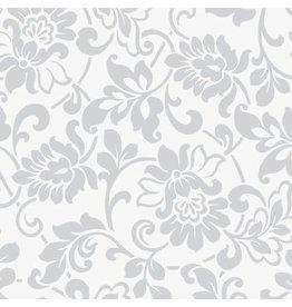 Plakfolie heritage zilver 45 cm x 2 mtr.