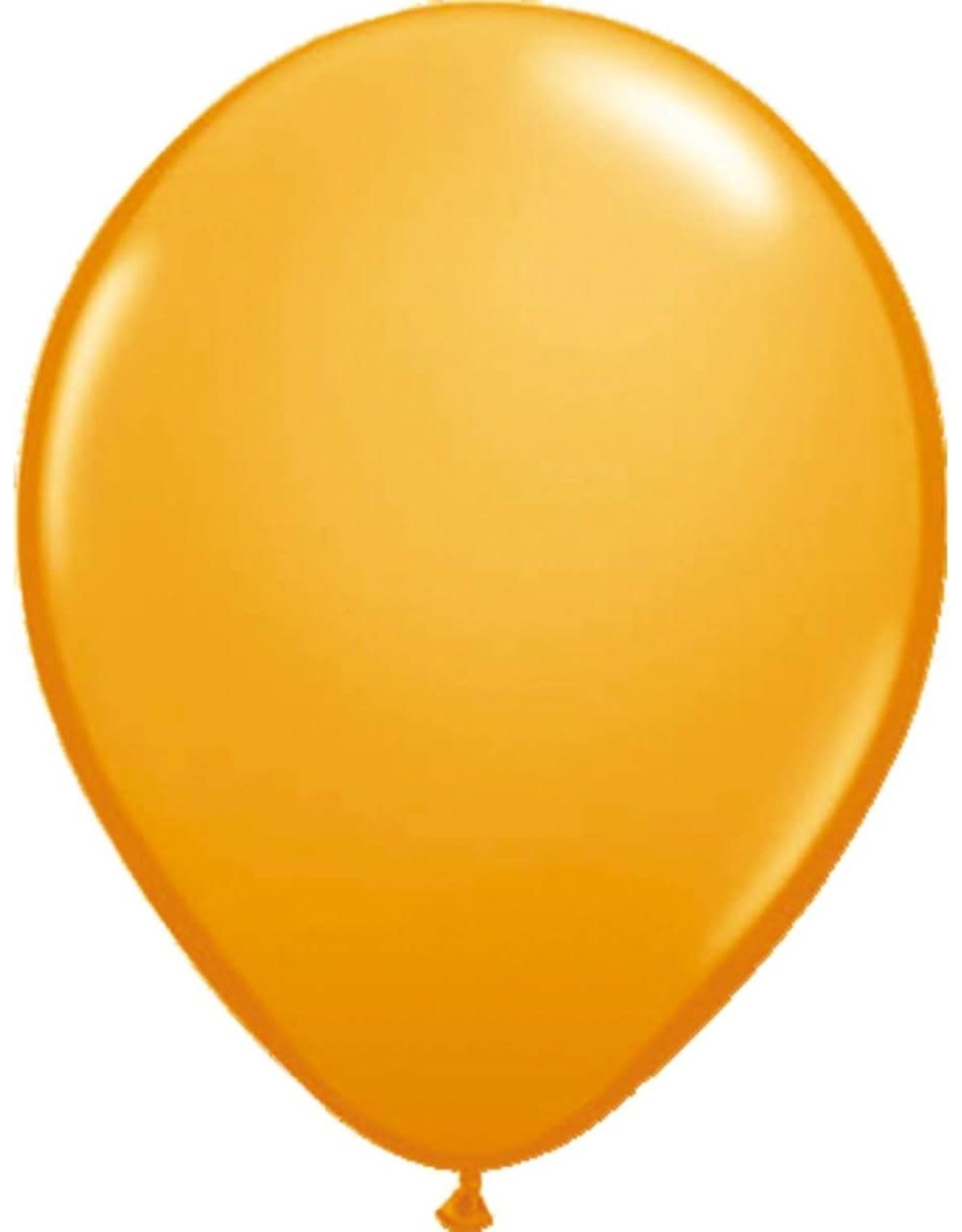 Ballonnen 30 Cm Latex Oranje 10 Stuks