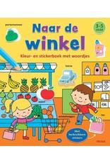 Deltas Kleur-Stickerboek Naar de Winkel