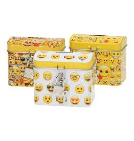 Durabo Emoji spaarpot wit