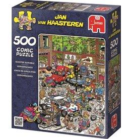 JUMBO Jan van Haasteren  VERKEERSCHAOS 500