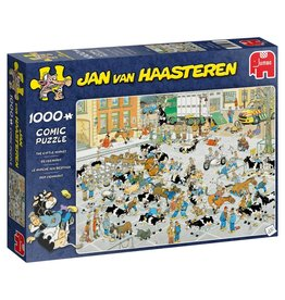 Jan van Haasteren: De Veemarkt (1000 stukjes)