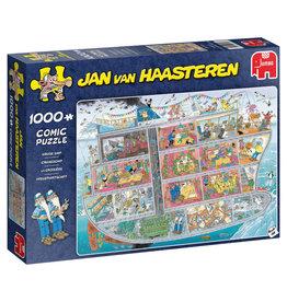 JUMBO Jan van Haasteren puzzel cruiseschip - 1000 stukjes
