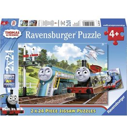 Ravensburger Thomas & Friends 2 Puzzels 24 stukjes