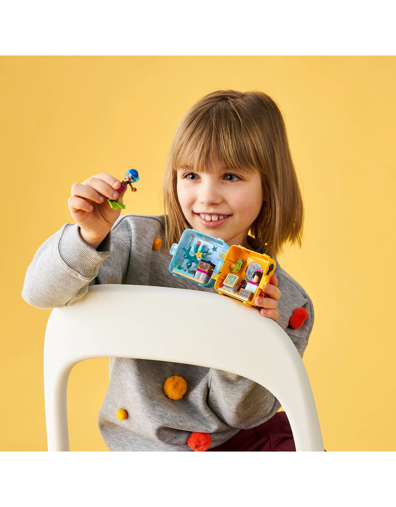 LEGO Andrea's Zomerspeelkubus Lego 41410