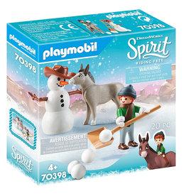 PLAYMOBIL Spirit Riding Free - Sneeuwpret met Snips