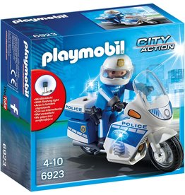 PLAYMOBIL PLAYM. POLITIEMOTOR 6923
