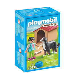 PLAYMOBIL playmobil country kind met hond