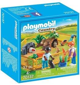 PLAYMOBIL PLAYMOBIL KINDEREN MET KLEINE DIEREN 70137
