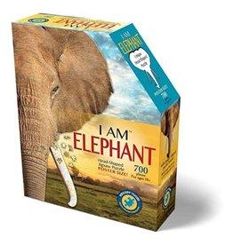I Am Head Shaped Jigsaw Puzzle Elephant 300 pcs 6