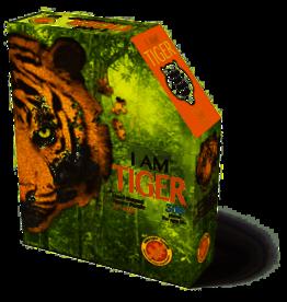 Madd Capp legpuzzel tijger 43 x 42 cm karton oranje 300-delig