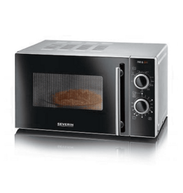 SEVERIN Severin MW 7875 - Magnetron - Grill - zwart/zilver