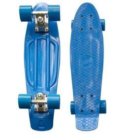 "RiDD - Pennyboard blauw skate board 22"" inch  56 cm"