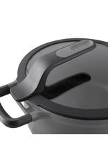 BERGHOFF BergHOFF Kookpot met deksel grijs 28 cm - Gem