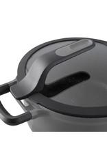 BERGHOFF BergHOFF Kookpot met deksel grijs 24 cm - Gem