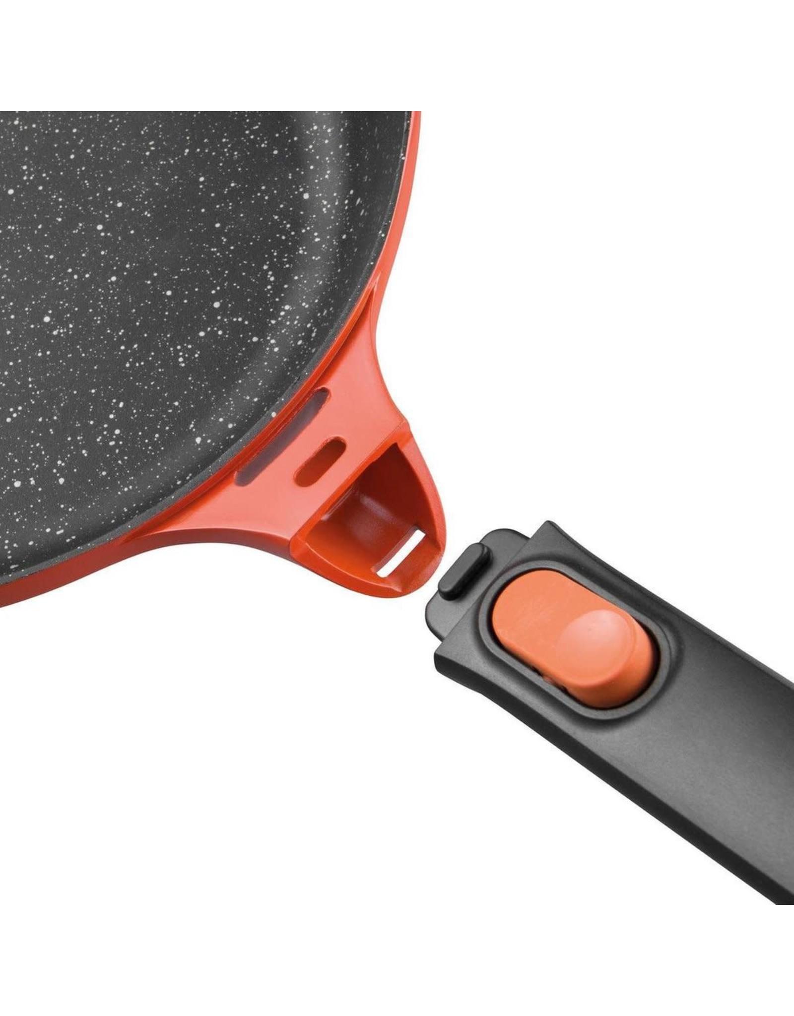 BERGHOFF Hapjespan 24 cm Aluminium, Oranje - BergHOFF Gem