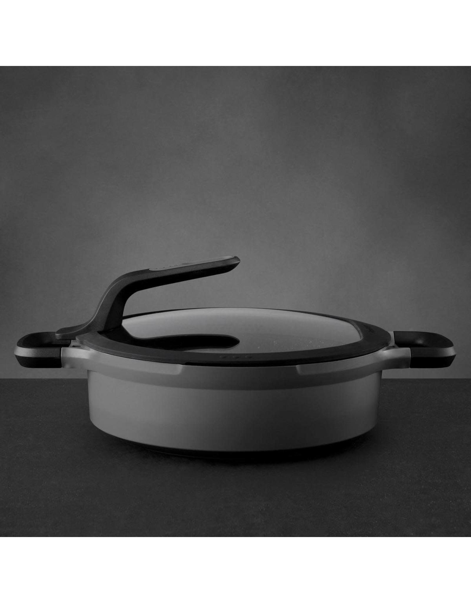 Sauteerpan 26 cm Aluminium, Grijs - BergHOFF  Gem