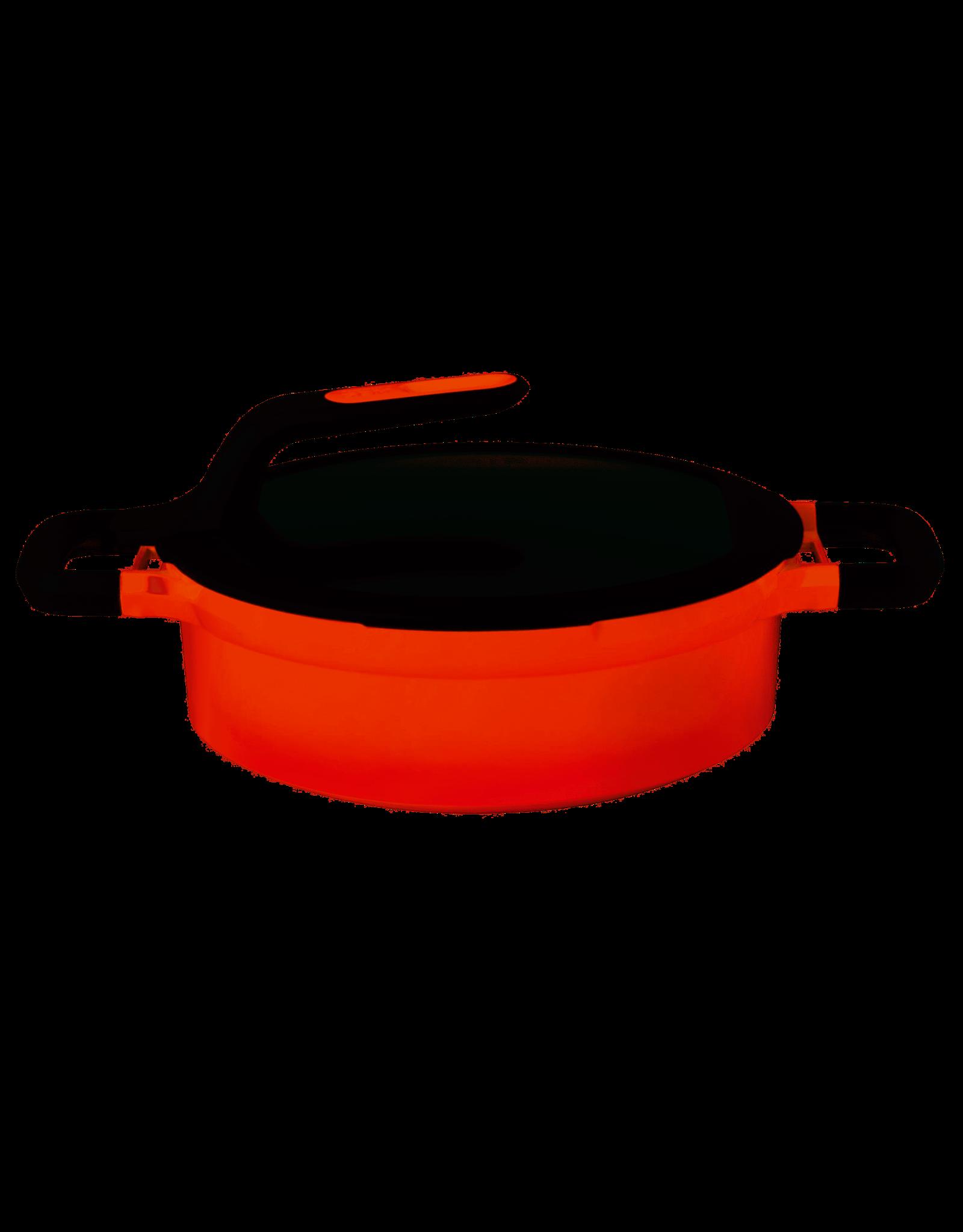 BERGHOFF Sauteerpan 24 cm Aluminium, Oranje - BergHOFF Gem