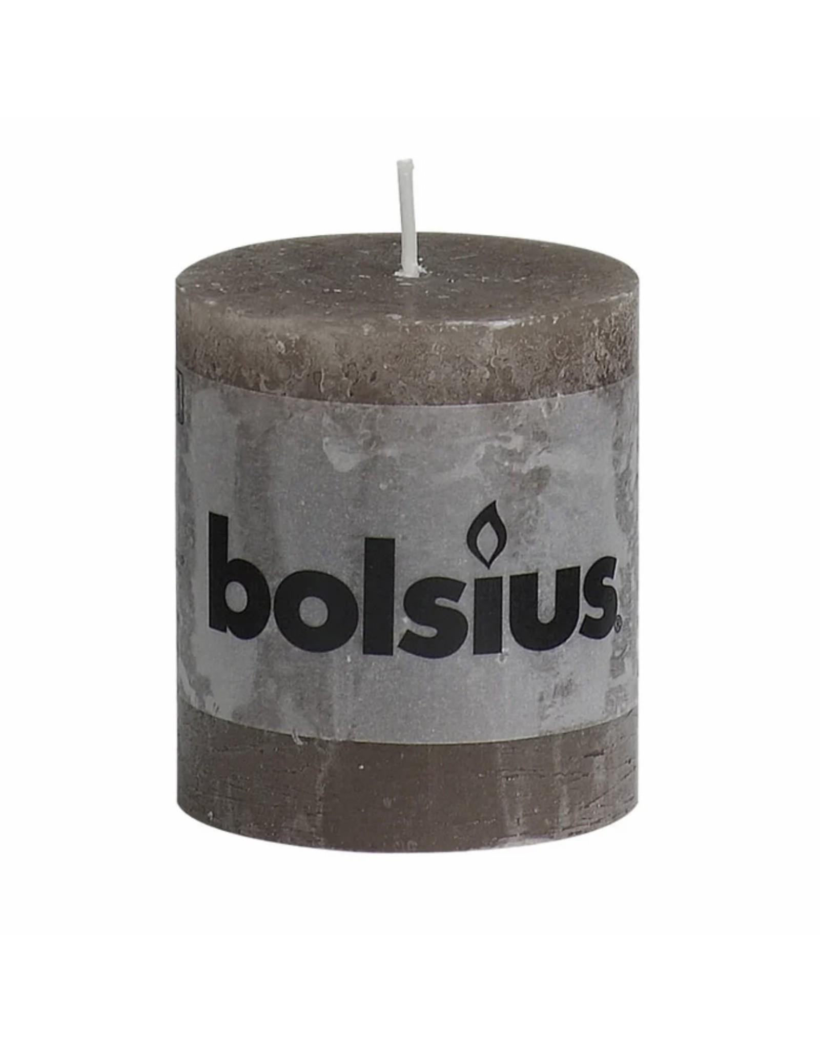 BOLSIUS RUST.KAARS 6,8X8 TAUPE