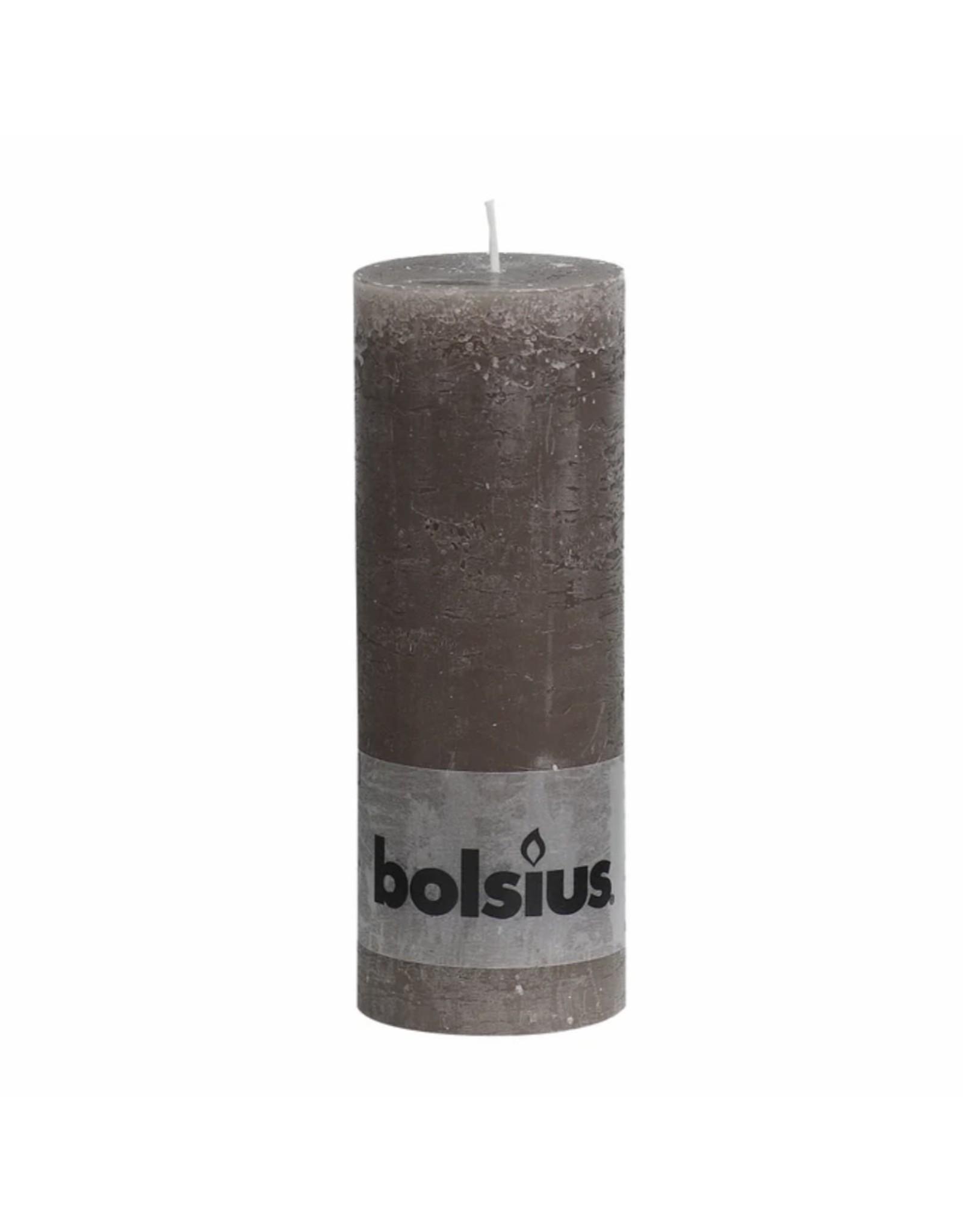 BOLSIUS RUSTIEK 6.8X19 TAUPE