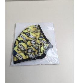 Mondkap met filter wasbaar minions per stuk