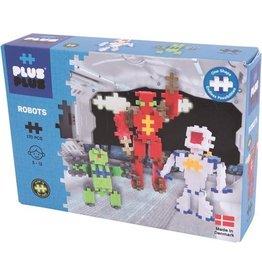PLUSPLUS Plus-Plus Mini Neon Robots: 170 stuks