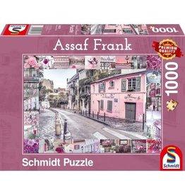 SCHMIDT SCHMIDT Romantische reis, 1000 stukjes Puzzel