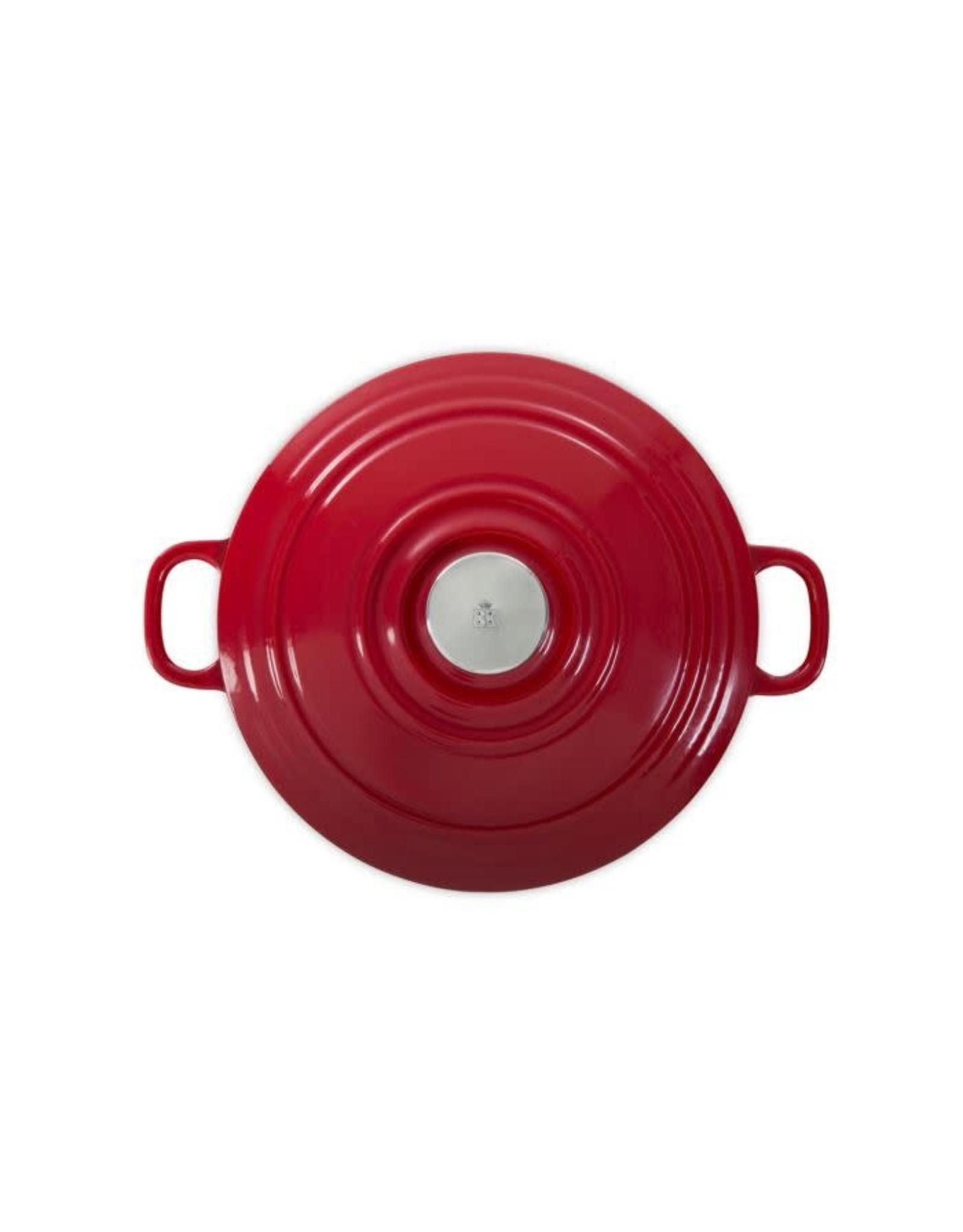BK BK BOURGOGNE BRAADPAN 28 CM CHILI RED