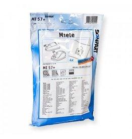 CLEAN BAG Miele MI57+ Stofzuigerzakken fleece (zakje) type F/J/M Scanpart