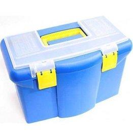 KINZO Kinzo Gereedschap koffer plastic blauw/geel