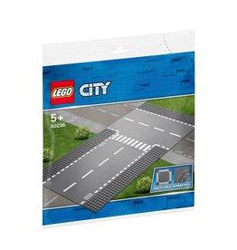 LEGO LEGO City Rechte en T-splitsing - 60236
