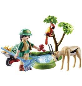 """PLAYMOBIL PLAYMOBIL Family Fun Cadeauset """"Zoo"""" - 70295"""