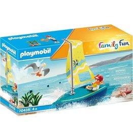PLAYMOBIL PLAYMOBIL Family Fun Zeilbootje - 70438