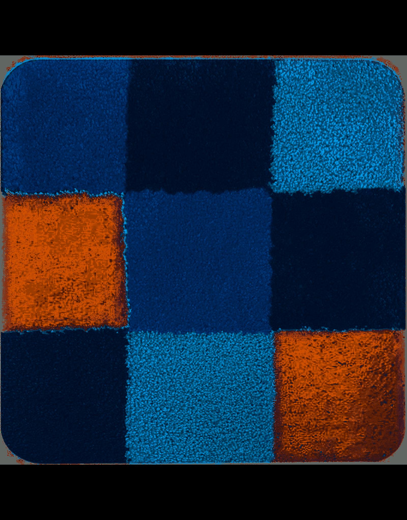 DUTCH HOUSE Bidetmat Brest blauw 60x60cm
