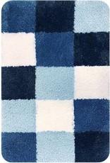 DUTCH HOUSE Badmat Brest blauw 60x90cm