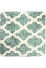 DUTCH HOUSE Bidetmat Alhambra groen 60x60cm