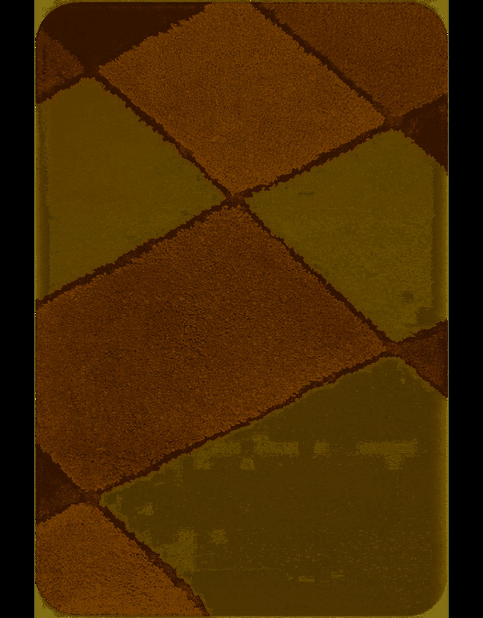 DUTCH HOUSE Badmat Nice bruin 60x90cm
