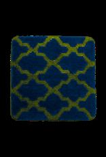 DUTCH HOUSE Bidetmat Alhambra donkerblauw 60x60cm