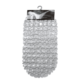 DUTCH HOUSE Douchemat Transparant Anti-slip 68x35