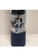 DUTCH HOUSE Antislip mat /universele mat blauw 65X180 Geschikt voor sauna/ vloerverwarming/ badkamer/binnen en buiten het huis